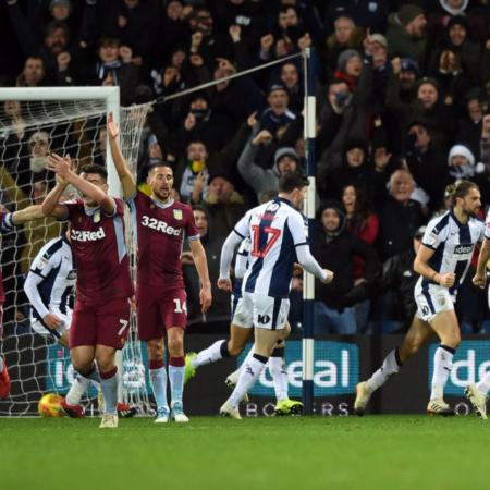 Aston Villa hòa 2-2 West Brom