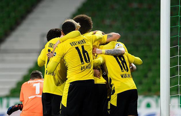 Dortmund chiến thắng trước Bremen
