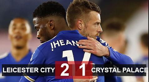 Leicester giữ vững vị trí trong Top 4 Premier League