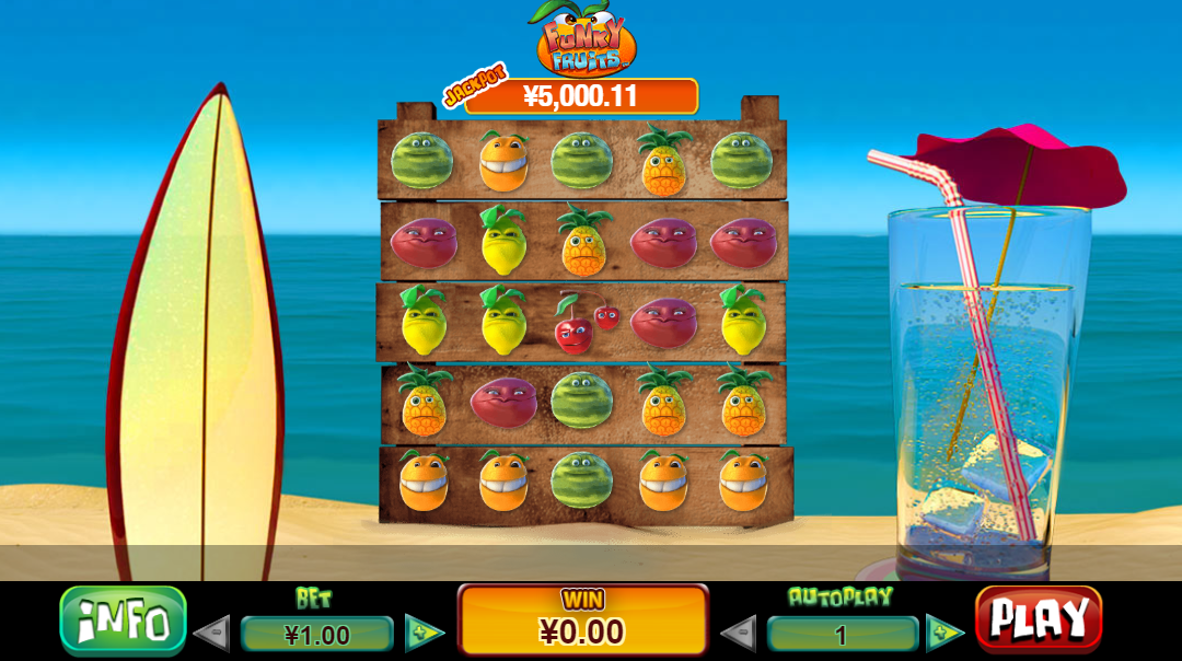 Game Slot online Funky Fruits ™