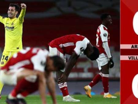 Arsenal vs Villarreal, sự dừng bước của các pháo thủ