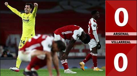 Kết quả lượt về Arsenal vs Villarreal