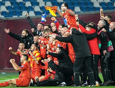 Bắc Macedonia lần đầu tiên tham dự Euro 2020