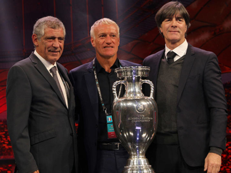 Tin thể thao Euro: Các cựu vương Euro chung bảng đấu F