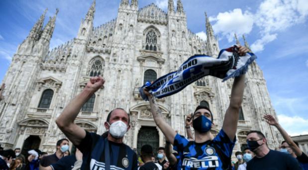 Inter Milan vô địch Serie A