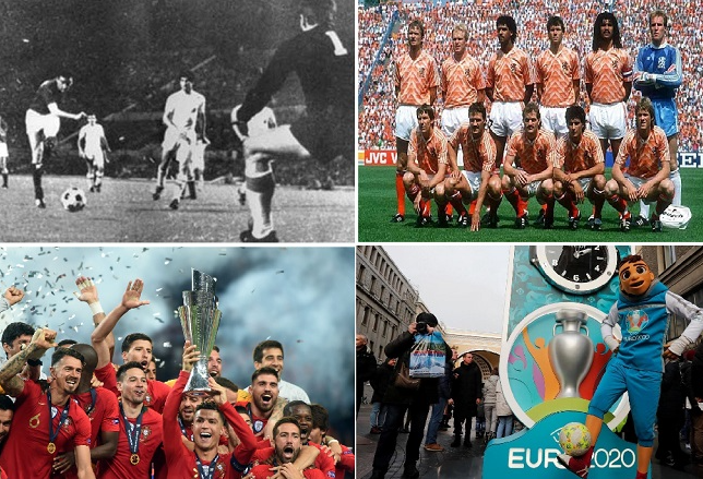 Ngược dòng lịch sử: Đội trưởng của các đội tuyển tham dự Euro 1960-2016 ( phần 1)