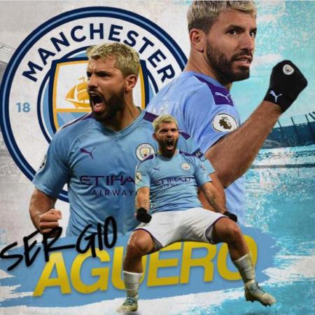 Sergio Aguero chia tay Man City bằng siêu bàn thắng