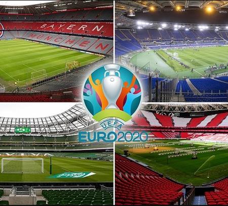 Tin tức thể thao Euro: UEFA thay đổi sân vận động tổ chức Euro 2020