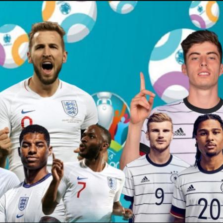 Lịch thi đấu Euro ngày 29/6: Anh vs Đức