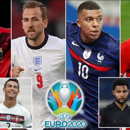 Bảng xếp hạng Vua phá lưới tại Euro 2020