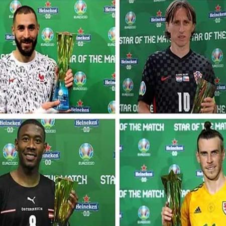 Euro 2020: Giải Heineken Star of the Match( phần 2)
