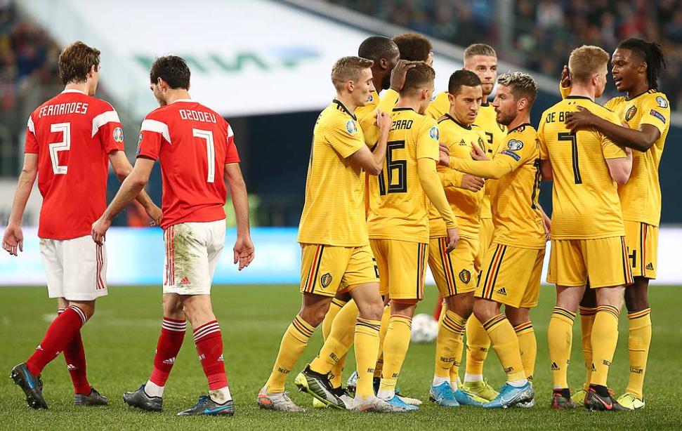 Nhận định Euro: Kết quả trận đấu giữa Bỉ vs Nga