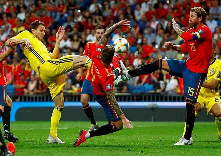 Nhận định Euro: Kết quả trận đấu giữa Tây Ban Nha vs Thụy Điển