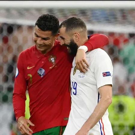 Euro 2020: Tình cảm của Ronaldo và Benzema