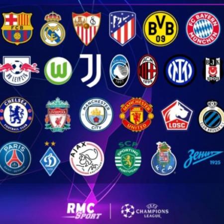 Champions League 2021/2022: danh sách 26 đội tham dự vòng bảng
