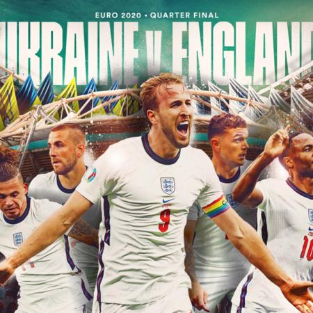 Kết quả thi đấu Euro: Anh vs Ukraine