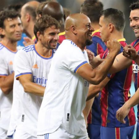 Real Madrid Legends 3-2 Barcelona Legends, ngày các huyền thoại trở lại