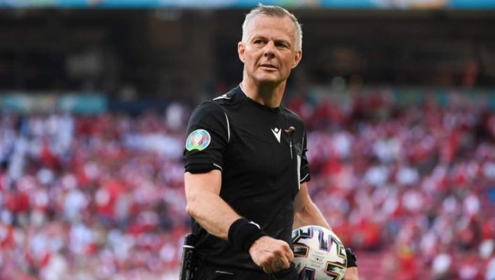 Björn Kuipers là trọng tài bắt chính trận chung kết Euro 2020
