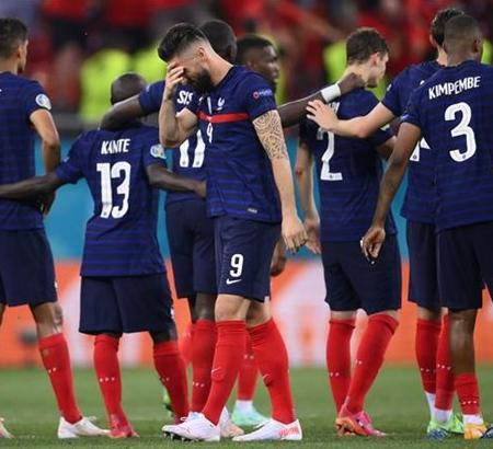 Các cầu thủ Pháp đổ lỗi cho nhau sau khi thua Thụy Sĩ tại Euro 2020