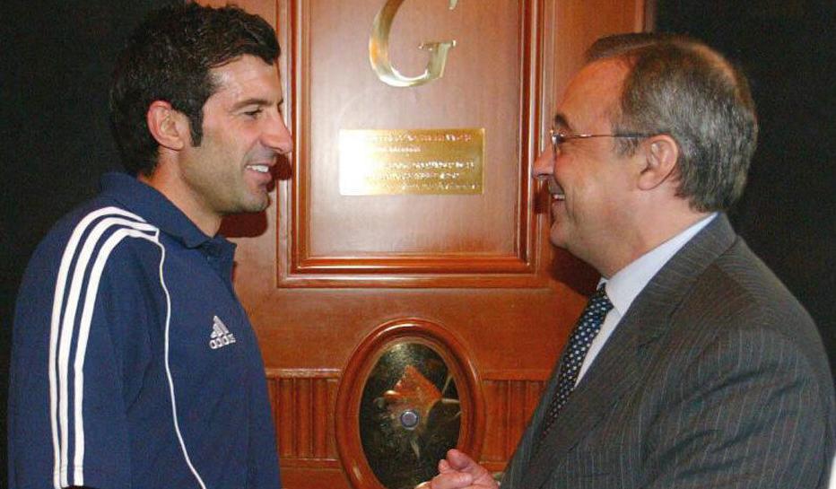 Florentino Perez xin lỗi Luis Figo sau đoạn ghi âm nói xấu được công bố