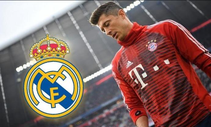 Lewandowski muốn đến Real Madrid thi đấu