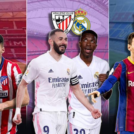 Lịch thi đấu La Liga mùa giải 2021-2022 (22/9-24/10)