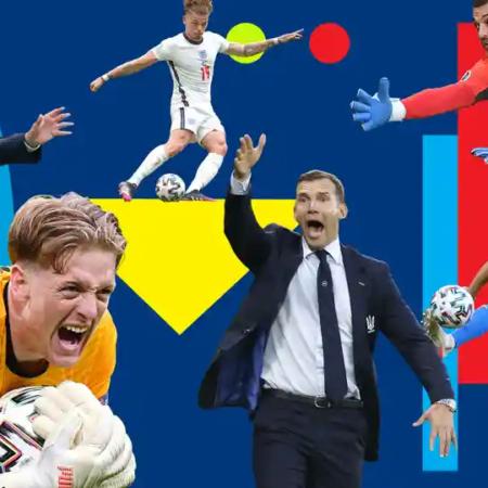 Lịch thi đấu Euro ngày 4/7: Ukraine vs Anh