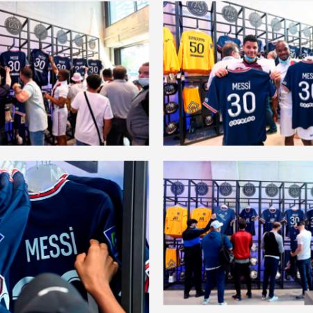 Tin tức 24h: Áo đấu của Messi cháy hàng tại Paris