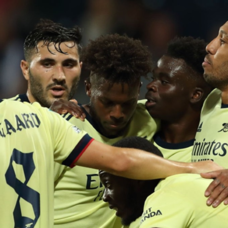 Arsenal thắng đậm West Bromwich 6-0 tại Carabao Cup