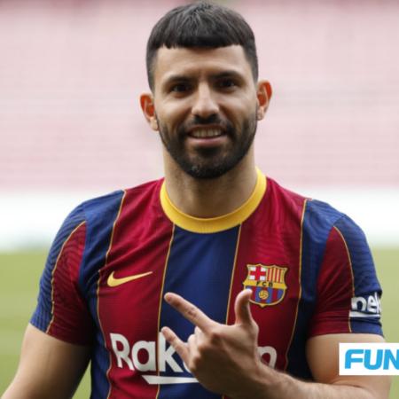Barcelona mất Sergio Aguero vì chấn thương chân