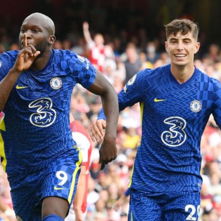 Chelsea vươn lên ngôi đầu Premier League nhờ sự tỏa sáng của Lukaku
