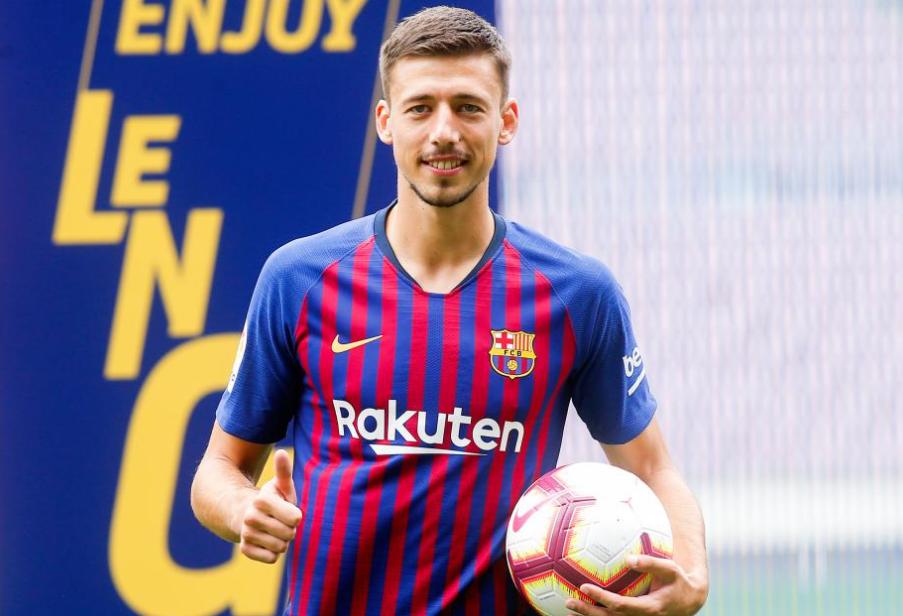 HLV Mourinho nhắm mua trung vệ Barca, Lenglet