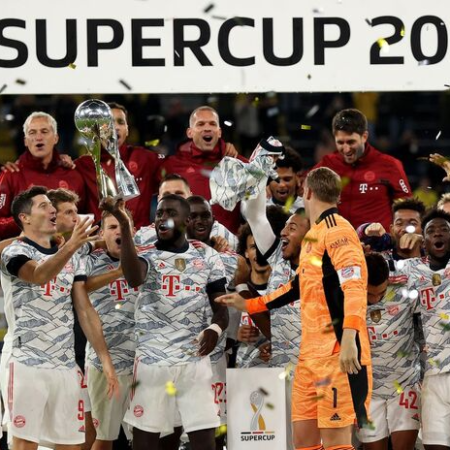 Siêu cúp Đức 2021: Lewandowski tỏa sáng giúp Bayern đánh bại Dortmund