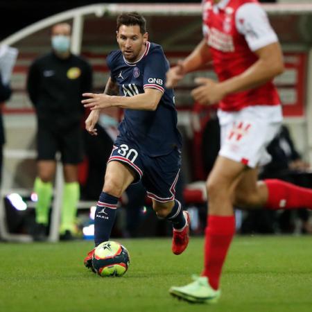 Lionel Messi chính thức chơi trận đấu đầu tiên cho PSG