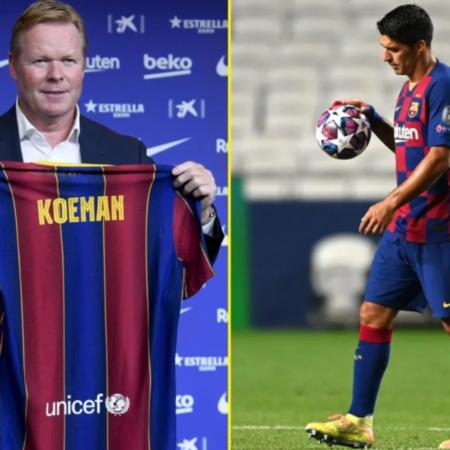 Luis Suarez từng bị Barca xua đuổi sau 6 năm cống hiến