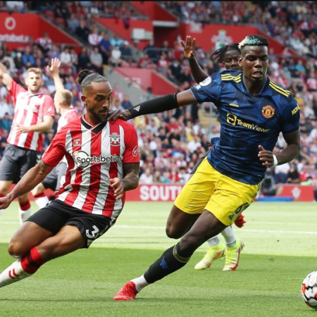 Man United bị Southampton cầm hòa trên sân khách