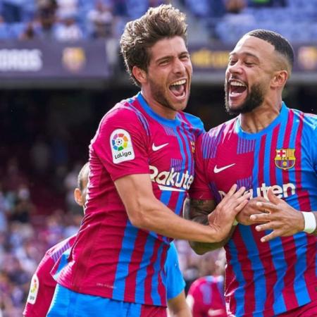 Memphis Depay lần nữa tỏa sáng giúp Barca có được chiến thắng
