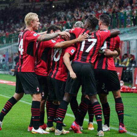 Olivier Giroud tỏa sáng giúp AC Milan có được chiến thắng