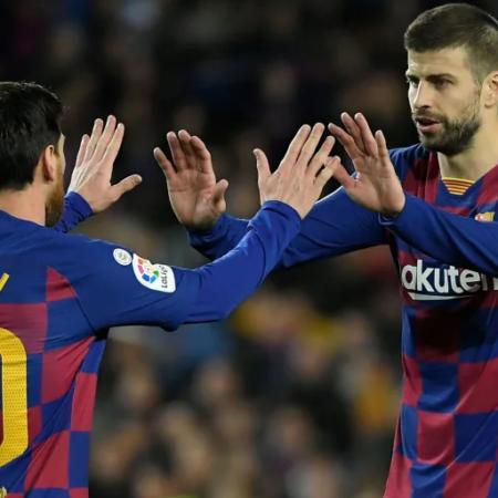 Pique mua bản quyền giải đấu Ligue 1 để được xem Messi thi đấu