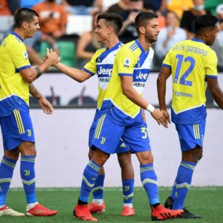 Ronaldo bị VAR từ chối bàn thắng, Juventus hòa Udinese 2-2