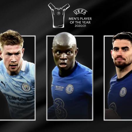 UEFA công bố đề cử của giải thưởng Cầu thủ xuất sắc nhất năm