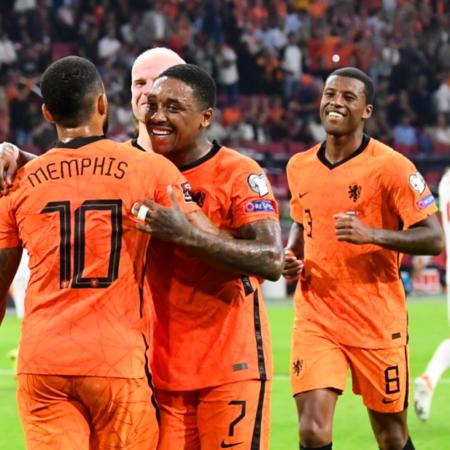 Cơn lốc màu cam Hà Lan hủy diệt Thổ Nhĩ Kỳ với 6 bàn thắng