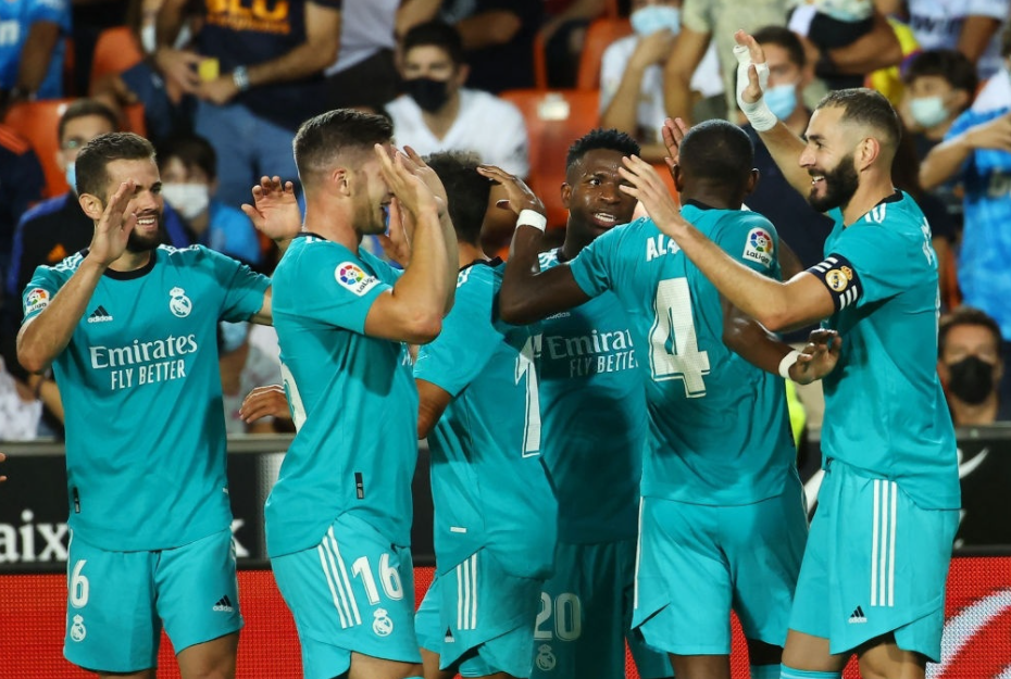 Real Madrid hoàn thành cú lộn ngược dòng ấn tượng trước Valencia