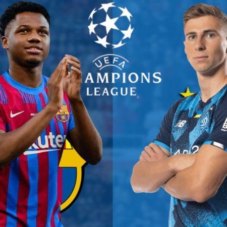 Barcelona vs Dynamo Kiev – 23h45 ngày 20/10