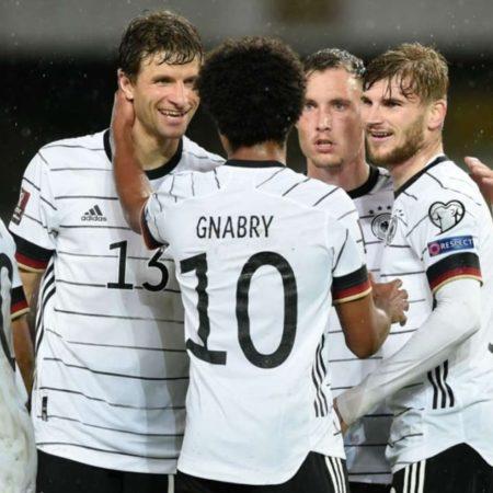 Đức trở thành đội bóng đầu tiên ghi tên vào VCK World Cup 2022