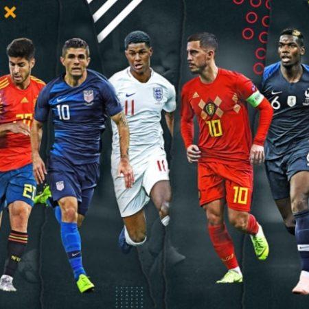 Lịch thi đấu vòng loại World Cup khu vực Châu Âu tháng 11