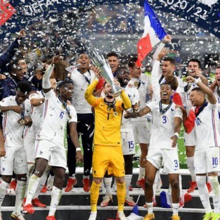 Pháp lần đầu tiên lên vô địch Nations League